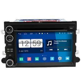Wholesale Gps Radio Ford Fusion - Winca S160 Android 4.4 Car DVD GPS Headunit Sat Nav for Edge Expedition Fusion Shelby GT500 Mustang 2007 - 2009 with Radio Wifi 3G OBD Video