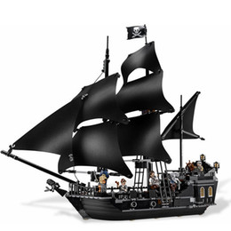 Wholesale Building Blocks Pirate Ship - Lepin Ship 804pcs Bricks Set Pirates Of The Caribbean Building Blocks Toys For Children Compatible