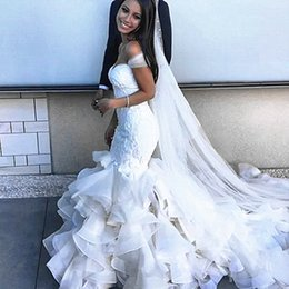 Wholesale Backless Silk Chiffon Wedding Dresses - Mermaid Wedding Dress 2016 vestido de noiva sereia beads sweatheart luxurious wedding gowns Gelinlik made in China