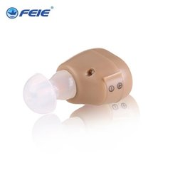 Wholesale Hearing Aid Voice Amplifier - Free Shipping Earphone Health Beauty Sound Voice Medical Supplies S-213 Hearing Aids Amplifier Ear Aid Headphone