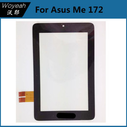 Wholesale Memo Pad Me172 - For Asus Memo Pad Me172 Touch Screen Black Touch Screen Digitizer Panel Replacement Parts For Asus