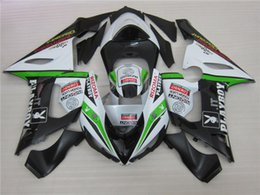 Wholesale Kawasaki Zx6r Fairings Playboy - 4 Free Gifts New ABS Fairings set For Kawasaki Ninja ZX636 ZX6R 05 06 ZX-636 ZX-6R 636 ZX 6R 2005 2006 600cc Full Fairing PLAYBOY
