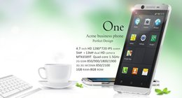 Wholesale Mtk6589 Quad Core Inch - Wholesale-Original Power On Off Button For CUBOT ONE Smartphone MTK6589 1.2GHz Quad Core 4.7 inch 1GB RAM 8GB ROM Free shipping