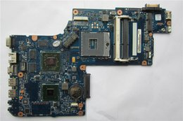 Wholesale Radeon Hdmi - Wholesale-laptop motherboard H000046340 for C870 L870 L875 17.3 Screen ATI Mobility Radeon HD 7670M DDR3 Mainboard