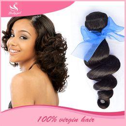 Wholesale Eurasian Human Hair Weave - Malaysian Virgin Hair Loose Wave Curly Unprocessed Human Hair Weaves Bundles 8A Brazilian Indian Cambodian Eurasian Peruvian Hair Extensions