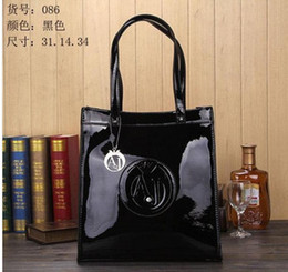 Wholesale Diamond Jelly - Wholesale-HOT!!Women bags NEW 2015 Women's ajs bag patent leather oil skin PU jelly diamond bag inventory clearance processing