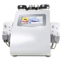 тонкие вибраторы Скидка Лазер лазера Lipo потери веса уменьшая оборудование пользы Спы салона внимательности кожи RF вакуума машины с вибромашиной и сообщением Донга