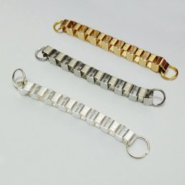 Wholesale Dog Music Box - 50mm Extended Extension snake box Chains Tail Extender jump rings cell art bag dangle charms Decoration jewelry Making Finding connector