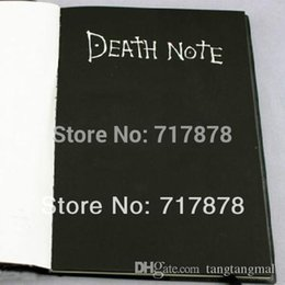 Wholesale Death Note Pen - Hot Sale Death Note Notebook & Feather Pen Book Japan Anime Writing Journal New Free shipping A5