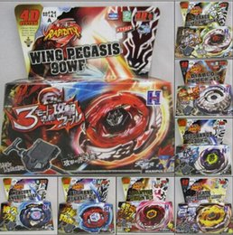 Wholesale Beyblade Toys For Free - New design 16pcs lot 4D beyblade fight 8 models mix hot sale toys for kids and children christmas free shipping
