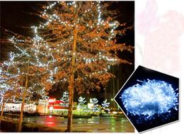 Wholesale Red Chinese String Lights - LED Wedding Light Fairy Lights Christmas Lights LED Outdoor christmas xmas String Fairy Wedding Curtain Light 220V 110V