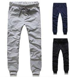 Wholesale Harem Pant Hiphop - New Mens Casual Harem Baggy HIPHOP Dance Jogger Sport Sweat Pants Trousers