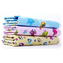 Wholesale Travel Change Mats - New Cotton Baby Infant Travel Home Waterproof Urine Mat Cover Burp Changing Pad Free Shipping & Drop Shipping