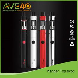 Kit de démarrage Kanger Top Evod en gros Kit de démarrage Kanger TopEvod avec kit de 1,7 ml Atomizer Evod ? partir de fabricateur
