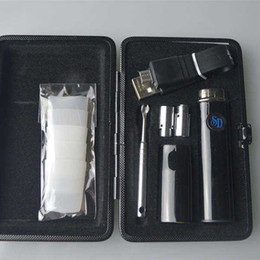 Wholesale Herbal Vaporizer Case - Snoop Dogg Travel Kit Dry Herb Wax Mini Gift Case Vaporizer Pens with Micro 5Pin Charger SD Herbal E Cigarette Starter Kits
