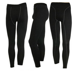 Wholesale High Quality Yoga Pants - High Quality! Free Shipping Hot sale New Genuine Sports Apparel Men Compression Running Tights Fitness Yoga Men's Pants new arrive