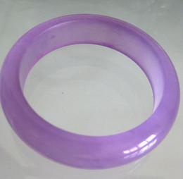 Transporte de gravura de pulseira on-line-2017 Birmânia pedra de jade Pulseiras de moda pulseira de cor roxa FRETE GRÁTIS verdadeira mão de pedra gravura