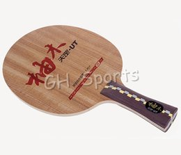 Wholesale dhs blades - Wholesale- Original DHS Dipper DI-UT (DI UT) table tennis blade teak wood DHS blade for table tennis racket indoor sports racquet sports