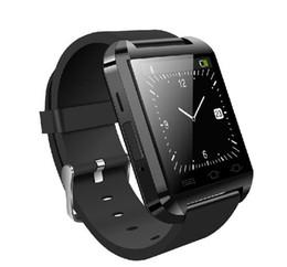 U8 android bluetooth relógio inteligente relógio de pulso para i telefone 4 4S 5 5S S5 Smartwatch eletrônico 2014 novo com controle remoto 1 pcs de
