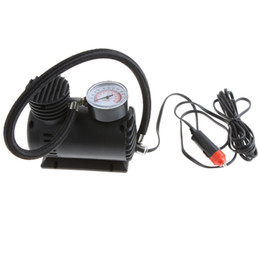 Wholesale Electric Air Inflator - Wholesale - Portable Car Auto 12V Electric Air Compressor Tire Inflator 300PSI Free Shipping K590