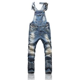 Wholesale Denim Overall Men - Front Pocket Design Relaxed Front Pocket Design Relaxed Fashion Denim Overalls For Men Overalls For Men