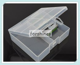 Wholesale Translucent Boxes Shipping - 10pcs,Hot Sale Translucent Hard Plastic Case Holder battery Storage Box for 24 pcs AA Battery New,Free shipping to Netherlands,China stock