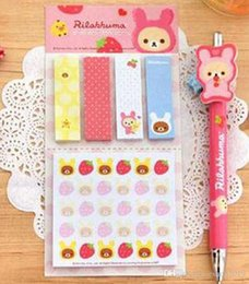 Wholesale Wholesale Paper Stationery Suppliers - cute post it sticky notes stickers kawaii paper notes notepad animal stationery for children students office supplier Scrapbook