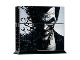 Wholesale Very Cool - Very Cool Joker PS4 Vinyl Decal PS4 Skin Sticker 1 Console Skin & 2 Controller Skin Stickers For PS4