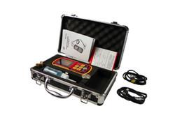Wholesale Digital Ultrasonic Thickness Gauge - Wholesale-Ultrasonic thickness gauge GM130 1.0~300 mm 1000~9999m s digital thickness gauge Micrometer LCD backlight with carry box
