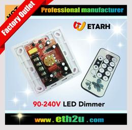 Wholesale Triac Dimmer Led Driver - Wholesale-High voltage 220V IR LED dimmer switch,90V~240V 110V 230V,Suitable for TRIAC driver, Free shipping