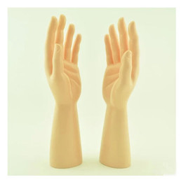 Wholesale Mannequin Hand Display - New Arrival Laft And Right One Pair PVC Male Mannequin Hand Man For Gloves Display
