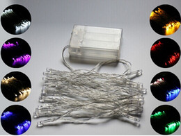 2019 мини-светодиодные фонари с подсветкой Мощность батареи 3 м 4 м 10 м светодиодные строки мини-фея свет батареи работает Рождество Xmas светодиодные строки освещение Бесплатная доставка дешево мини-светодиодные фонари с подсветкой