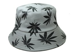 Wholesale Top Trapper Hats Men - 2014 new fashion gray bucket hats Cannabina for men and women fishing caps gorras sports headwear good color top quality cheap