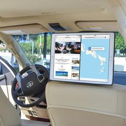 Ipad fahrzeughalter online-TFY Auto Kopfstützenhalterung für iPad Pro - mit Schnellbefestigungs-Design für bequemen Tablet-Zugriff in Fahrzeugen-Schwarz