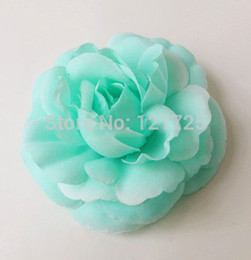 Wholesale Candy Rose Clothing Wholesale - Festive Party Supplies Decorative Flowers Wreaths 8 cm diy flower head Candy-colored tea rose artificial flower for Clothes decoration