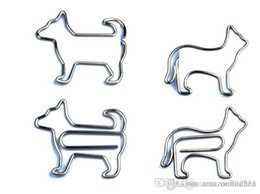 Wholesale Paper Filing Clips - Paper Clips Animal Shaped Paperclips Book Mark Filing Binding Mark Orc