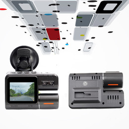 "Wholesale French Car Brands - Brand New 2.0"" Car Dvr full hd 170 Degree Wide Angle 1080P Car Camera dash cam Recorder Motion Detection Dual lens G-Sensor tachograph 32G"