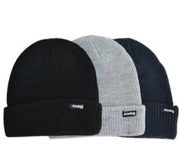 Wholesale beanies bboy - Wholesale-New Winter Outdoor sport keep warm Skateboard hat Fashion Pure color Women Knitting Cap Men Bboy Hip-hop Ski Hat Free shipping