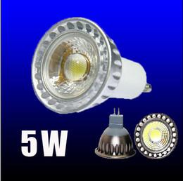 Wholesale Led Energy Saving Mr16 - x10 LED Energy-saving Bulb 5W COB Dimmable LED Bulb lamps 5W LED Bulb Light GU10 MR16 E27 E14 B22 GU5.3 LED Spotlights Led Lights Bulb