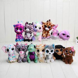 Wholesale Ty Stuffed Animal Unicorn - TY Beanie Boos Plush Animals unicorn Plush Toys soft stuffed doll Ty Big Eyes Soft Toys For Kids toys