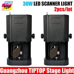 Wholesale Cheap Spot Lighting - Wholesale-Cheap Price 2Pcs Lot 30W DMX Led Scanner Light for Disco Night Club Light Led Beam Scan Effect 8 Color + White with 8 gobo spot