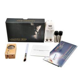 Wholesale Flight Metal - Magic Flight Launch Box Vaporizer Dry herb Vapor Cigarette Kit renewable Birch Hardwood box mod kit dhl