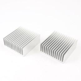 Wholesale Heatsink Cooler Fin - Wholesale- PROMOTION! 2pcs Chipset Heatsink Heat Diffuse Cooling Fin 50mm x 56mm x 20mm