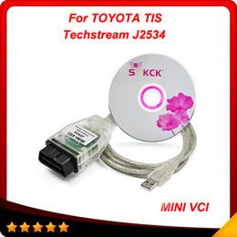 Wholesale Toyota Mini Vci Obd2 - 2015 Latest Version Toyota Tis Techstream MINI VCI OBD2 Diagnostic Tool single calbe In stock