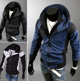 Wholesale Cardigan Jacket Assassins Creed - Plus size Sports Hooded Jacket Casual Autumn Jackets hoody sportswear Assassins Creed Men's Clothing Hoodies Sweatshirts