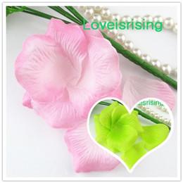 Wholesale Hot Pink Rose Petals - Hot Sale--5 packs(720pcs) Baby Pink Non-Woven Fabric Artificial Rose Flower Petal For Wedding Party Favor Decor