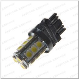 Wholesale Car Side Turn Light Indicator - Hotsale 10pcs 18 Led 5050 18SMD 7440 7443 3156 3157 Reversing Lights led light vehicle Car LED Auto Turn Indicator Lamp Brake Signal Bulb