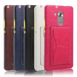 Wholesale Nexus Retro Case - Crazy Horse Leather Hard Case ID Card slot Retro Stand Holder Colorful For Huawei Ascend Mate 8 S 2 P7 P8 LITE NEXUS 6P skin Cover Luxury