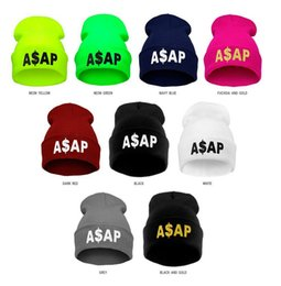 Wholesale Polar Fleece Beanie Hat - ASAP Warm Caps Polar Fleece Knit Ski Reversible Beanie Hat Knitted Hat Male Millinery Custom-Made Outdoor Hat M73