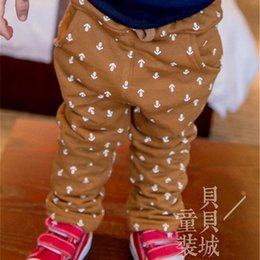 Wholesale Dk Girls - Wholesale-2015 Hot Sale Pockets Kikikids In Winter The New Children's Trousers Leisure Anchor Casual Pants Fashionable Clothes Dk-6417